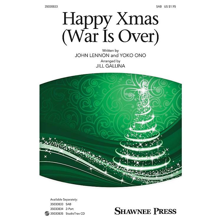 Shawnee PressHappy Xmas (War Is Over) Studiotrax CD by John Lennon Arranged by Jill Gallina