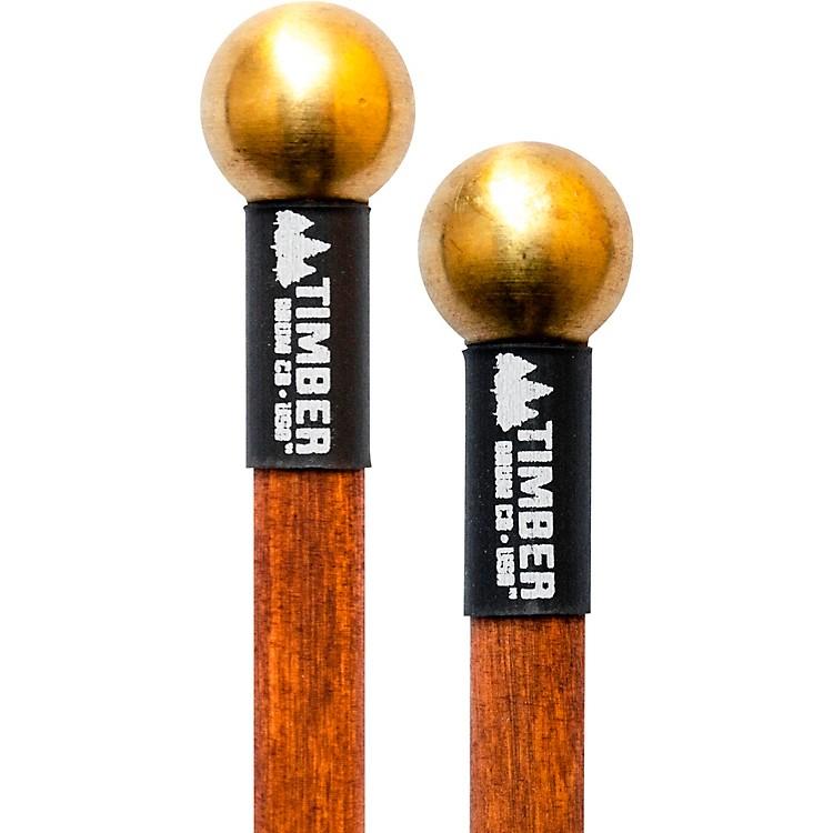 Timber Drum CompanyHard Brass Bell Mallets with Birch Handles