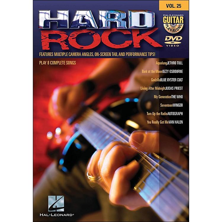 Hal LeonardHard Rock - Guitar Play-Along DVD Volume 25