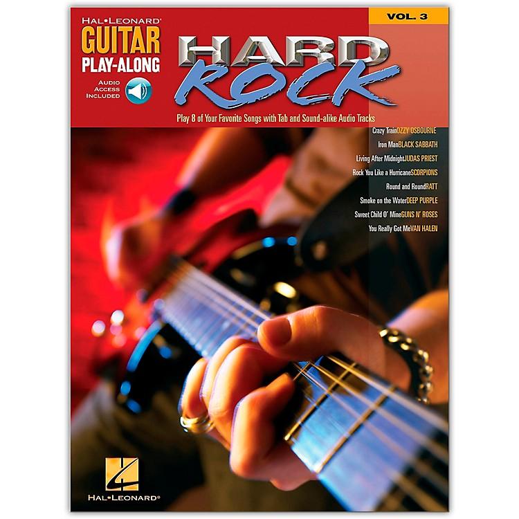 Hal LeonardHard Rock Guitar Play-Along Series Volume 3 Book with CD