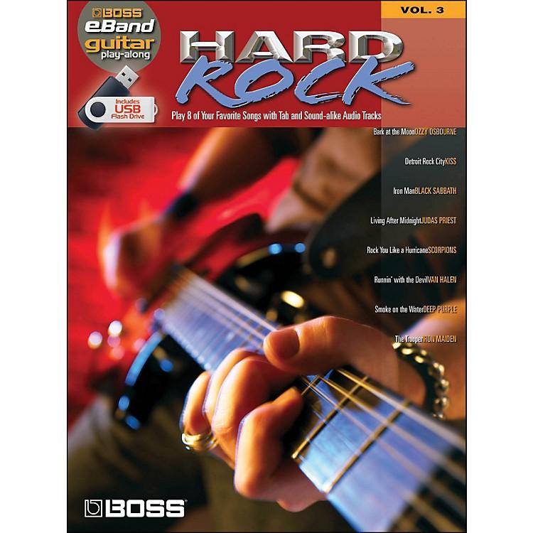 Hal LeonardHard Rock Guitar Play-Along Volume 3 (Boss eBand Custom Book with USB Stick)