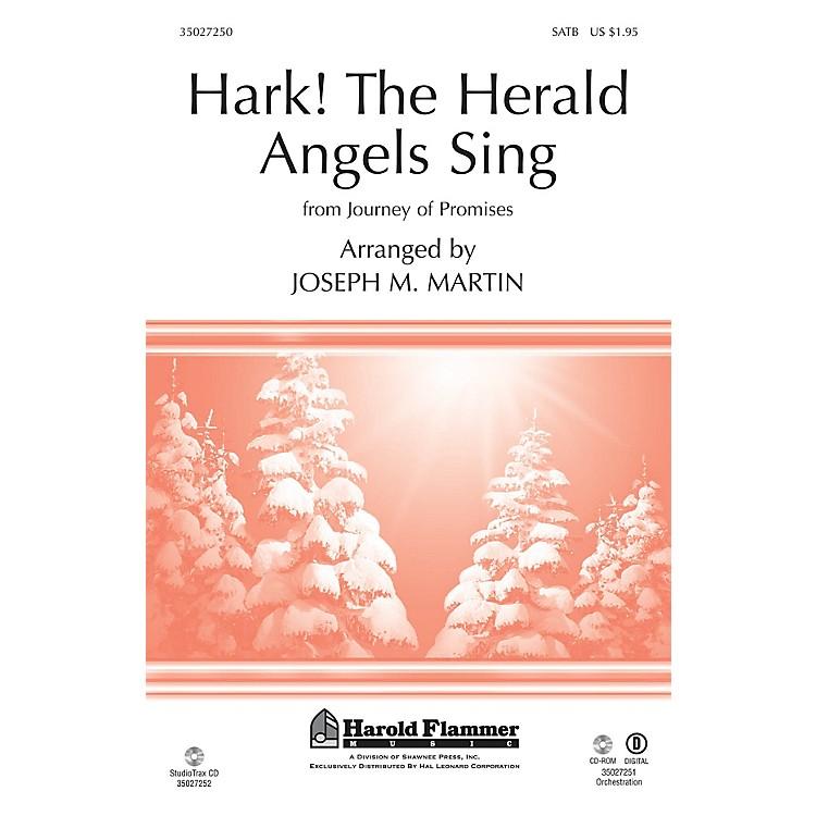 Shawnee PressHark! The Herald Angels Sing (from Journey of Promises) SATB arranged by Joseph M. Martin