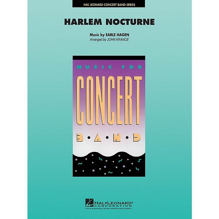Hal LeonardHarlem Nocturne Concert Band Level 4-5 Arranged by John Krance