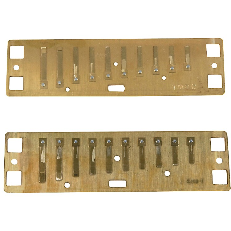 Lee Oskar Harmonic Minor Reed Plates  F# MINOR
