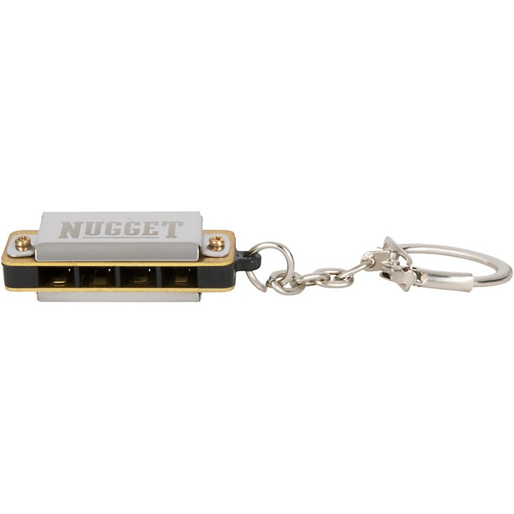 Silver Creek Harmonica Key Chain  C