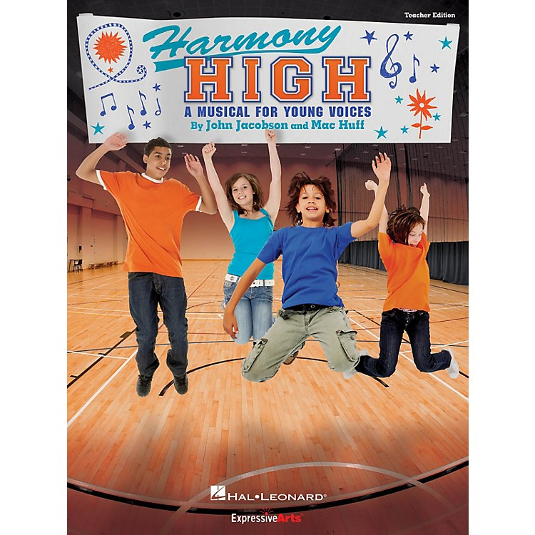 Hal LeonardHarmony High (A Musical for Young Voices) Singer 5 Pak Composed by John Jacobson