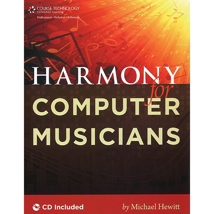 Course Technology PTRHarmony for Computer Musicians Book & CD