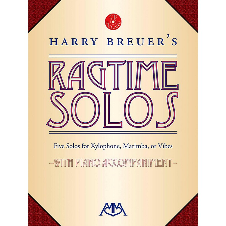 Meredith MusicHarry Breuer's Ragtime Solos Book/CD