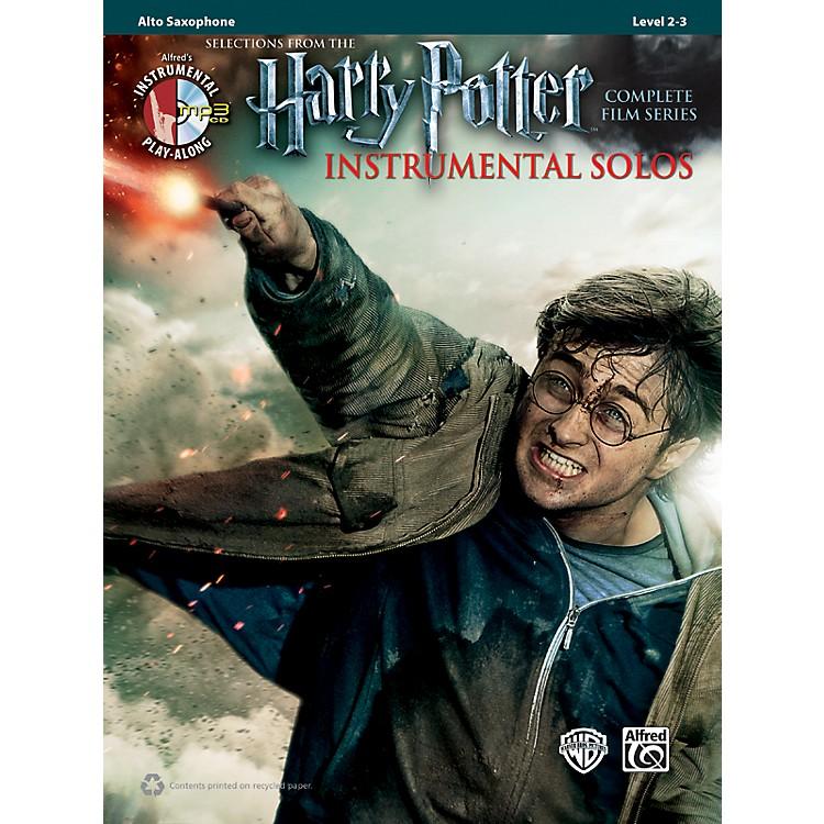 AlfredHarry Potter Instrumental Solos Alto Sax - Book/CD