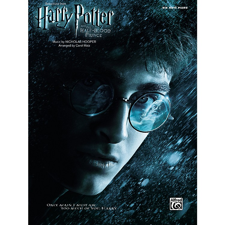 Alfred Harry Potter and the Half-Blood Prince Selections from Big Note Piano
