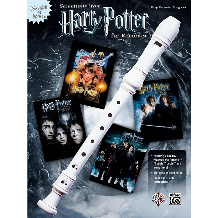 AlfredHarry Potter for Recorder Book