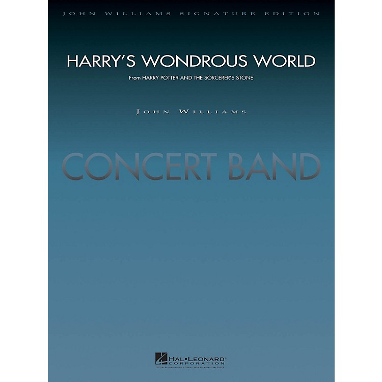 Hal LeonardHarry's Wondrous World (from Harry Potter and the Sorcerer's Stone) Concert Band Level 5 by John Williams