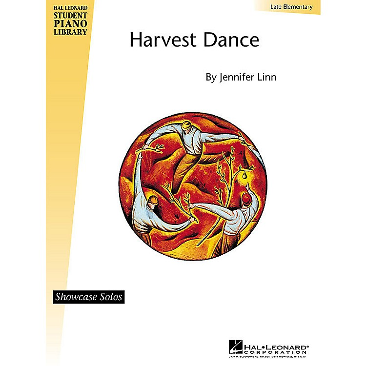 Hal LeonardHarvest Dance (Late Elem Showcase Solo) Piano Library Series by Jennifer Linn