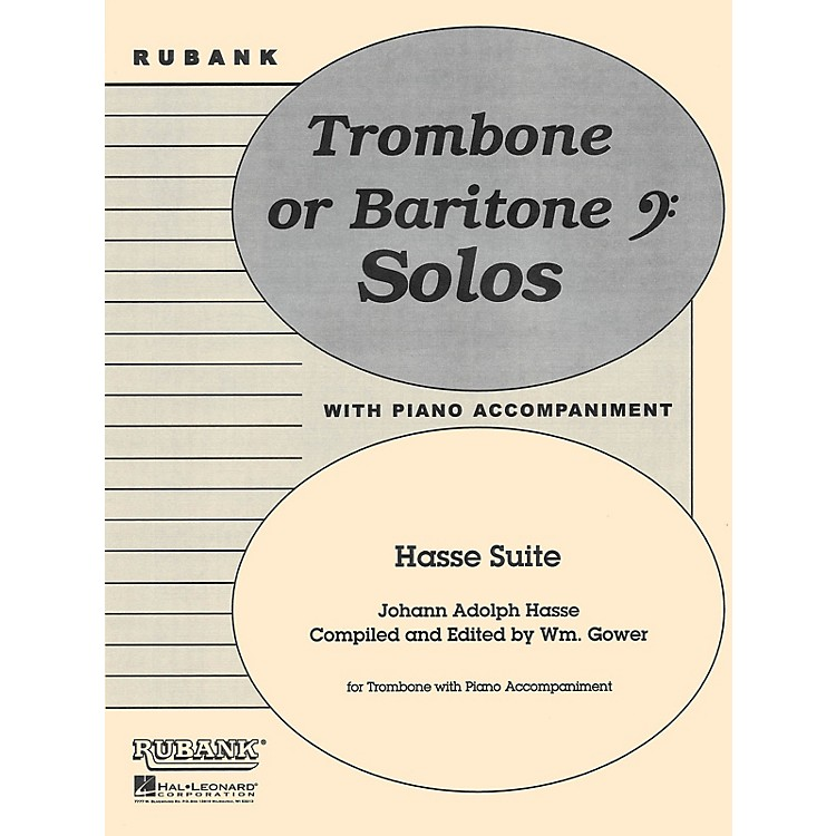 Rubank Publications Hasse Suite (Trombone Solo with Piano - Grade 4) Rubank Solo/Ensemble Sheet Series