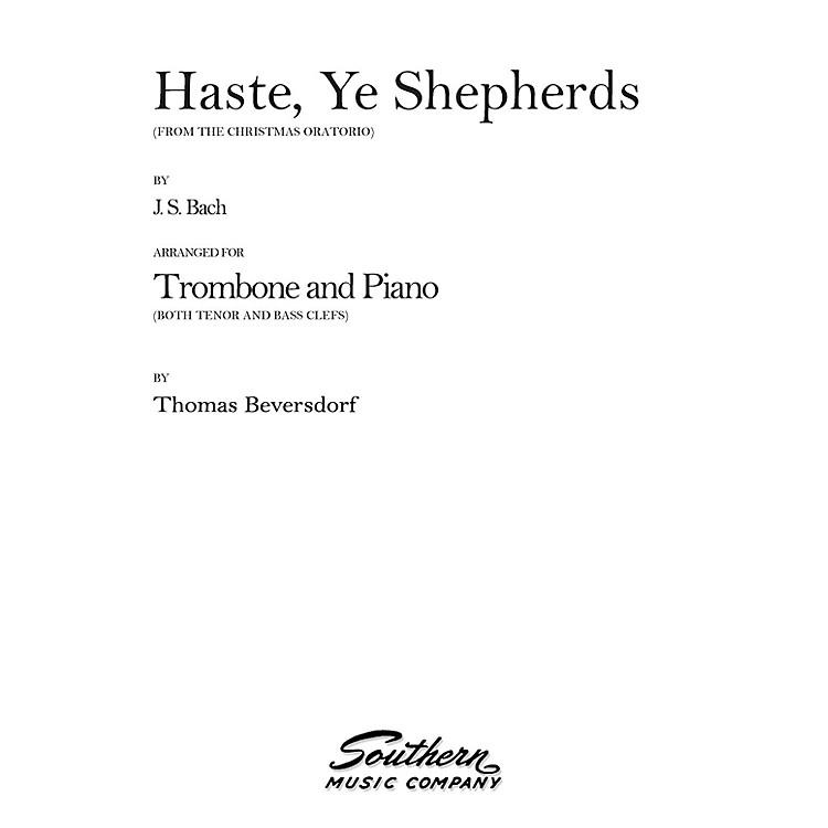 SouthernHaste, Ye Shepherds (Trombone) Southern Music Series Arranged by Thomas Beversdorf
