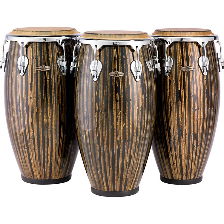 Pearl Havana Series Congas 12.5 in. Tumba Liquid Gold