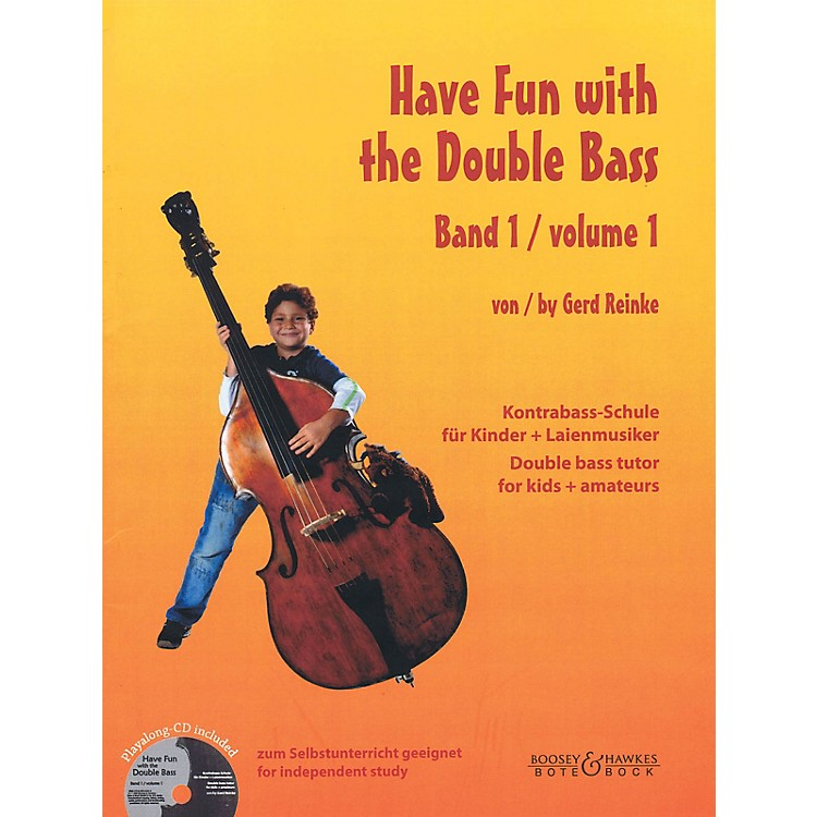 Bote & Bock Have Fun with the Double Bass Series Softcover with CD by Gerd Reinke