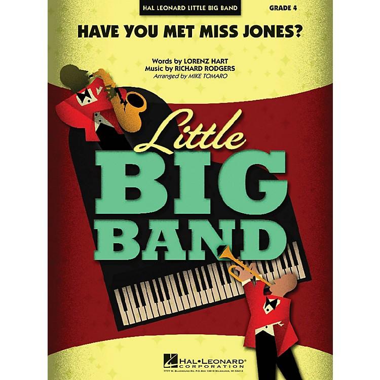 Hal LeonardHave You Met Miss Jones? Jazz Band Level 4 Arranged by Mike Tomaro