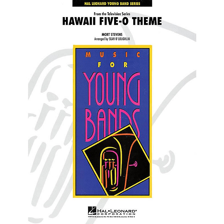 Hal Leonard Hawaii Five-O Theme - Young Concert Band Series Level 3 arranged by John Moss and Audrey Snyder