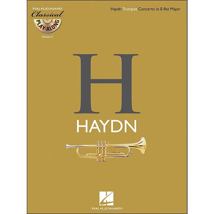 Hal LeonardHaydn: Trumpet Concerto In E-Flat Major Classical Play-Along Book/CD Vol. 5