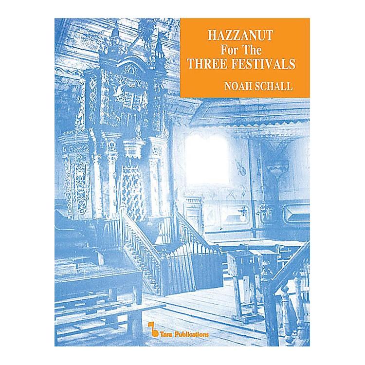 Hal LeonardHazzanut For Three Festivals Tara Books Series