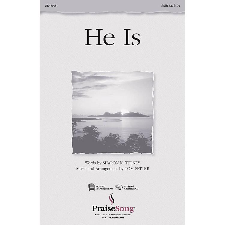 Hal LeonardHe Is IPAKO Arranged by Tom Fettke