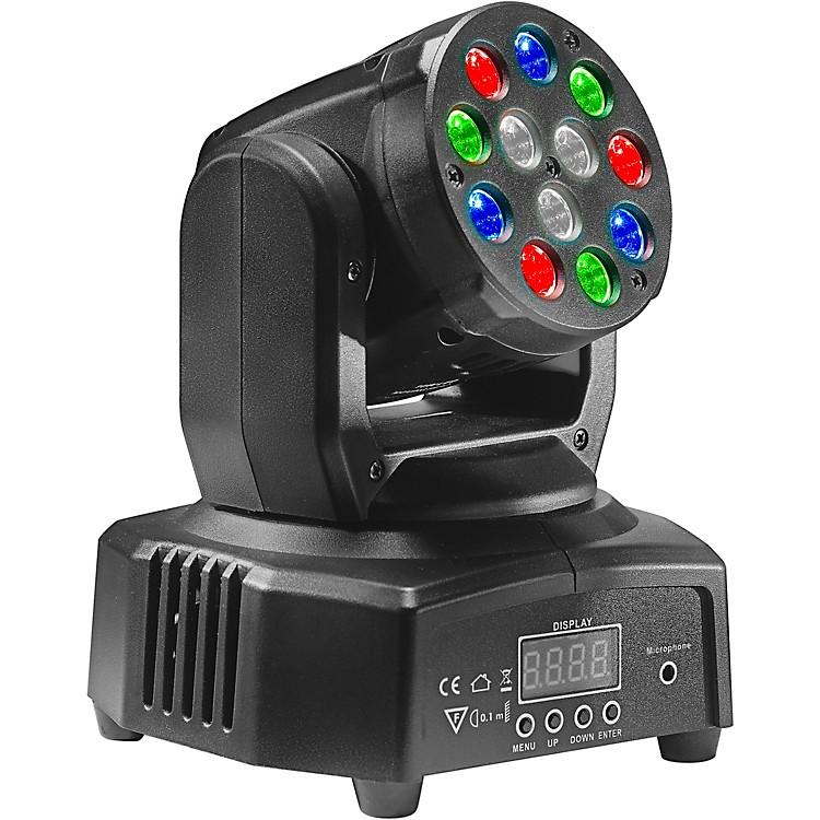 StaggHeadBanger 6 RGB LED Moving-Head SpotlightBlack