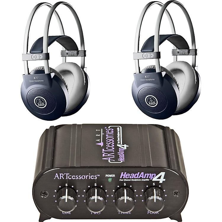 AKGHeadamp 4/K77 Headphone Two Pack