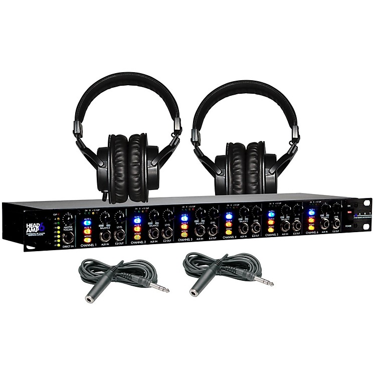 ART Headamp6 Tascam TH-200X Package (2-Pack)
