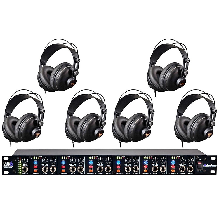 ARTHeadamp6 and MH310 Headphone Package (6-Pack)