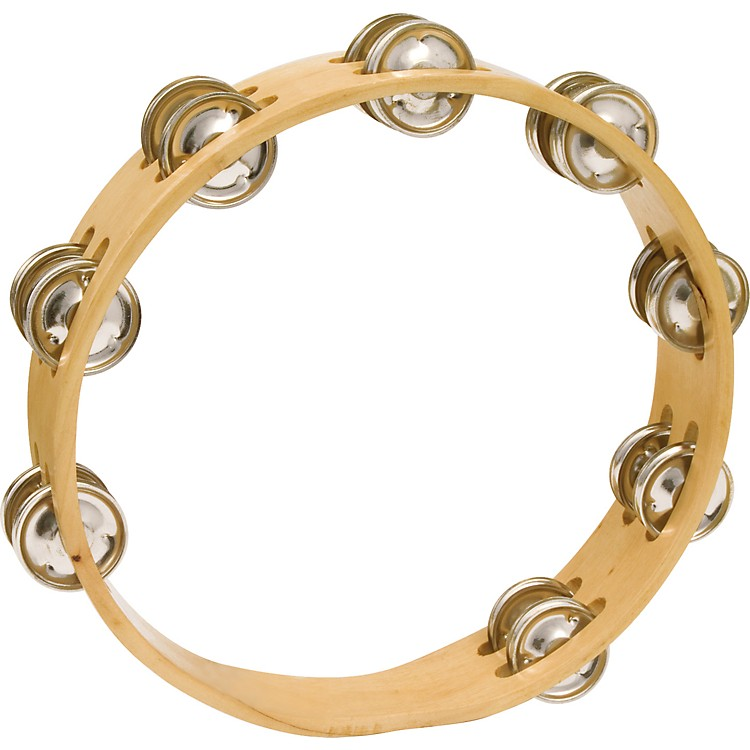 CP Headless Double Row Wood Tambourine 10 in.