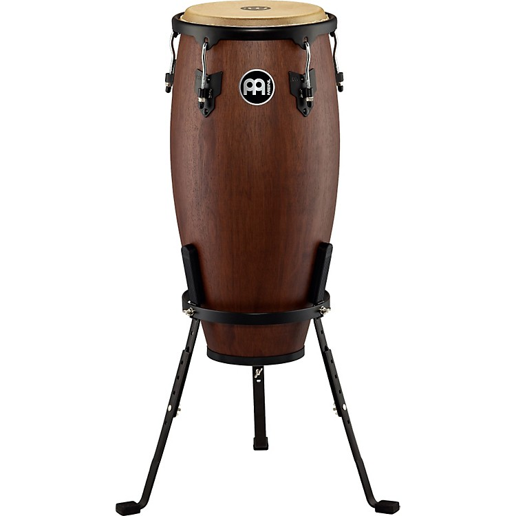 Meinl Headliner Designer Wood Conga with Basket Stand Vintage Wine Barrel 11 in.