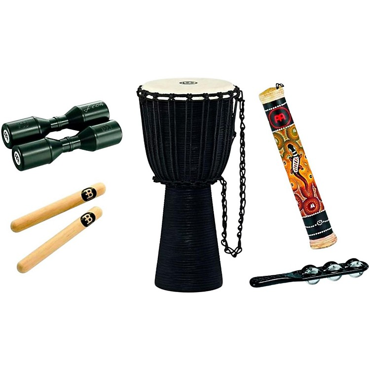 MeinlHeadliner Djembe Percussion Pack with Free Shaker and Jingle Stick