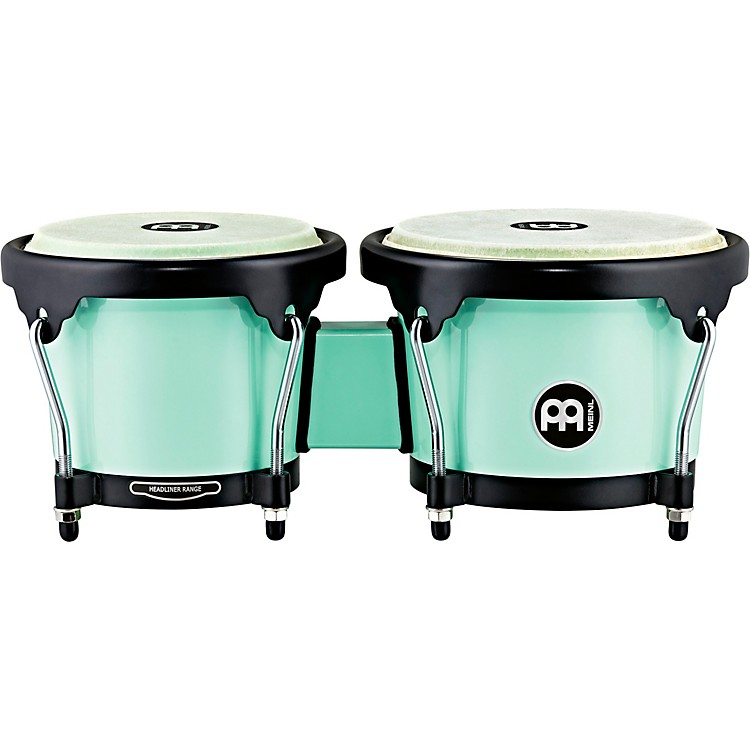 Meinl Headliner Series HB50 ABS Bongos in Sea Foam Finish