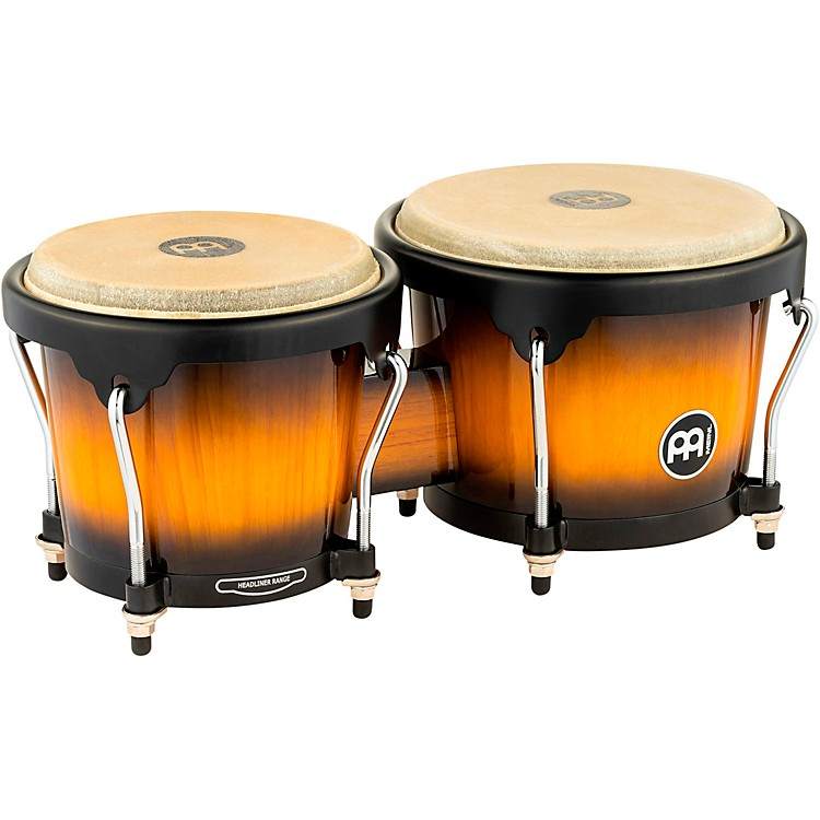 Meinl Headliner Series Wood Bongos Vintage Sunburst