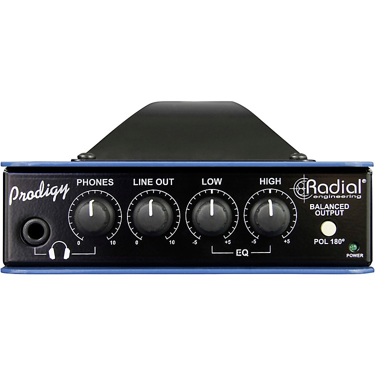 Radial Engineering Headload Prodigy Combination Load Box and DI 8 Ohm  888365907123