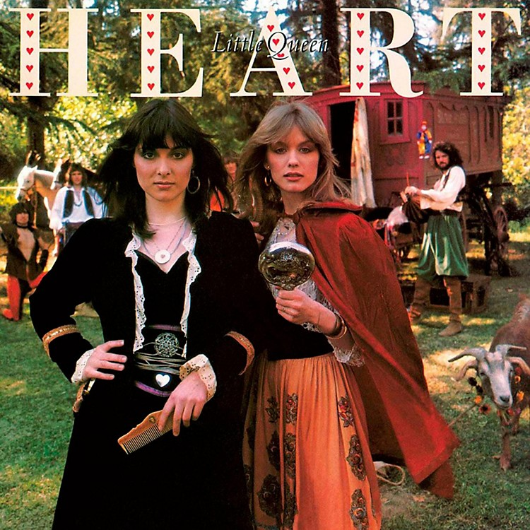 RED Heart - Little Queen LP
