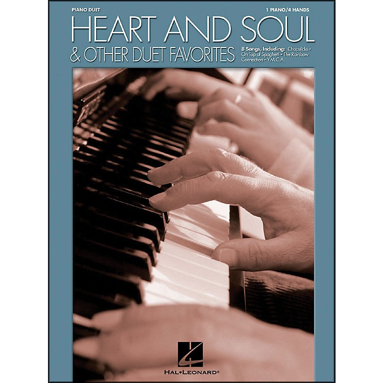 Hal LeonardHeart And Soul And Other Duet Favorites for Piano Duet 1 Piano, 4 Hands