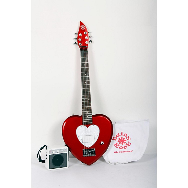 Daisy Rock Heartbreaker Short-Scale Electric Guitar Starter Pack Regular 888365801544