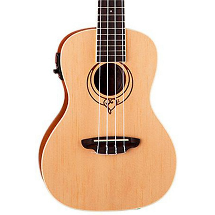 Luna Guitars Heartsong Acoustic-Electric Ukulele with USB Output
