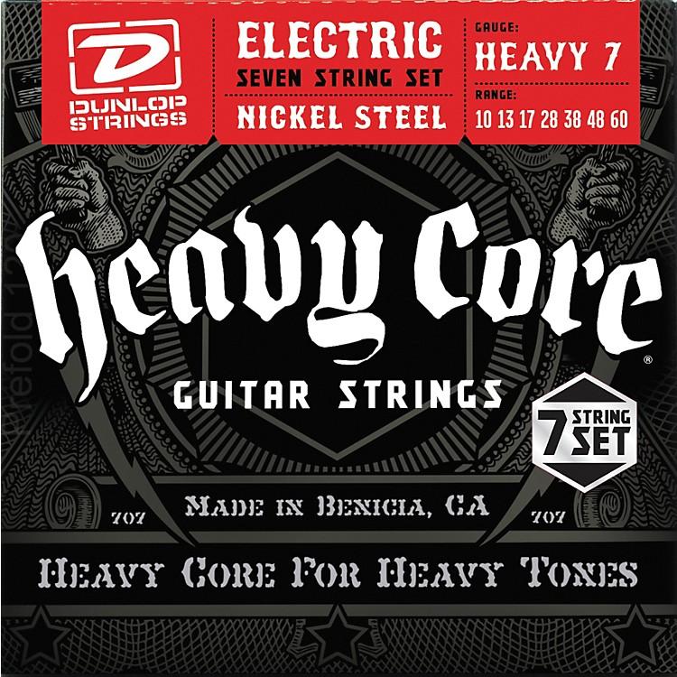 DunlopHeavy Core 7-String Electric Guitar Strings - Heavy Gauge