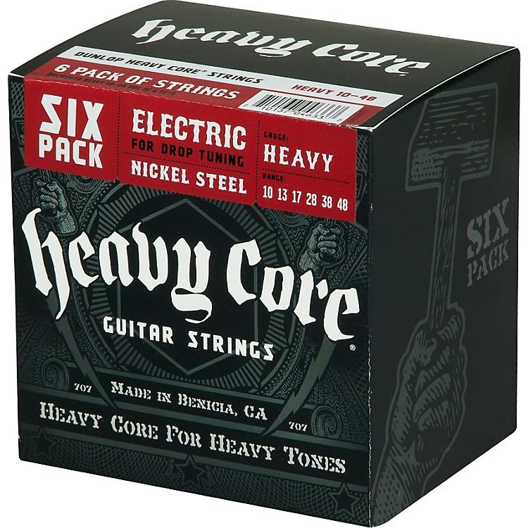 DunlopHeavy Core Electric Guitar Strings Heavy 6-Pack