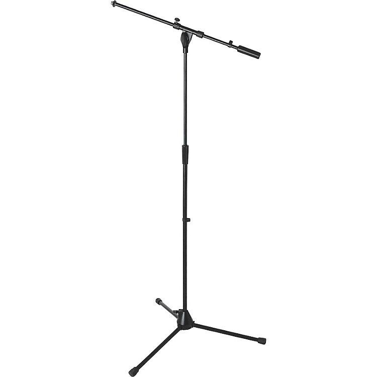 On-Stage Heavy-Duty Euro Boom Mic Stand Black