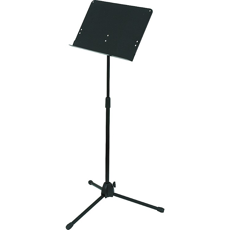 Musician's Gear Heavy-Duty Folding Music Stand Black