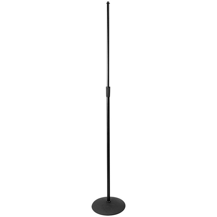 On-Stage Stands Heavy Duty Low Profile Mic Stand with 10