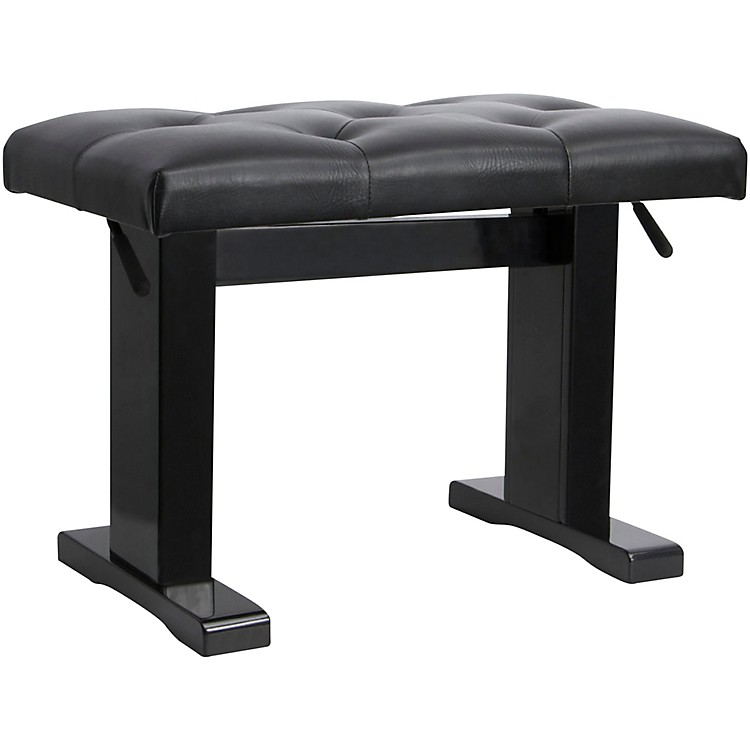 On-StageHeight Adjustable Piano BenchBlack