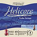 D'Addario Helicore Violin  Single A String 4/4 Size Heavy Titanium  thumbnail