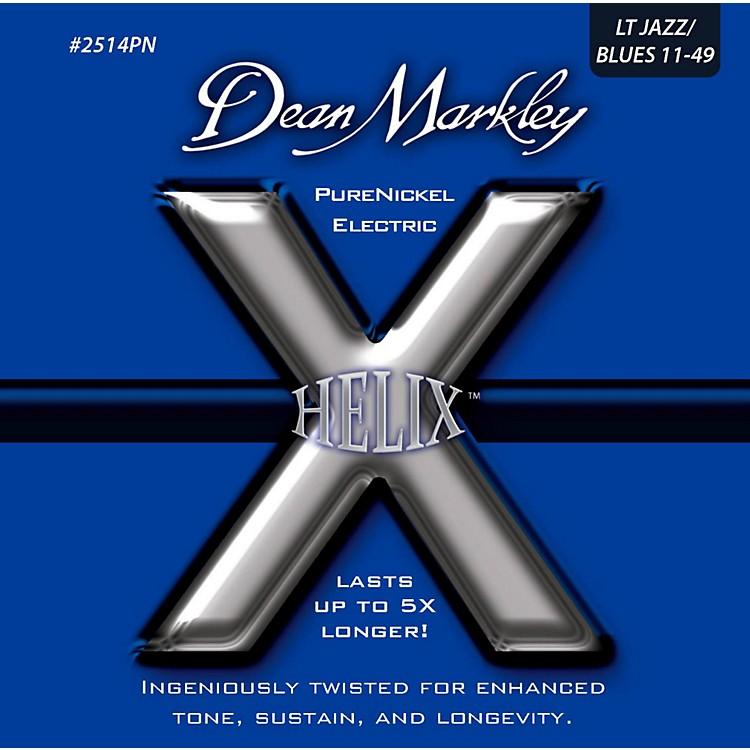Dean MarkleyHelix Pure Nickel Light Jazz/Blues Electric Guitar Strings (11-49)