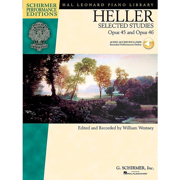 G. SchirmerHeller: Selected Studies Op 45 And Op 46 Book/CD Schirmer Performance Edition By Heller / Westney