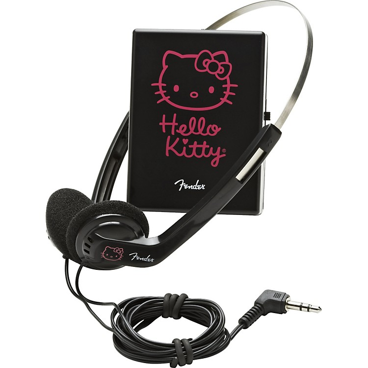 fender hello kitty headphone amp music123. Black Bedroom Furniture Sets. Home Design Ideas